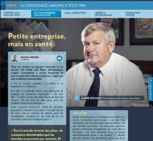 Petite entreprise La Presse